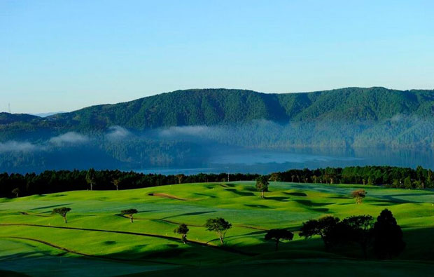 Hakone-en Golf Course Overview
