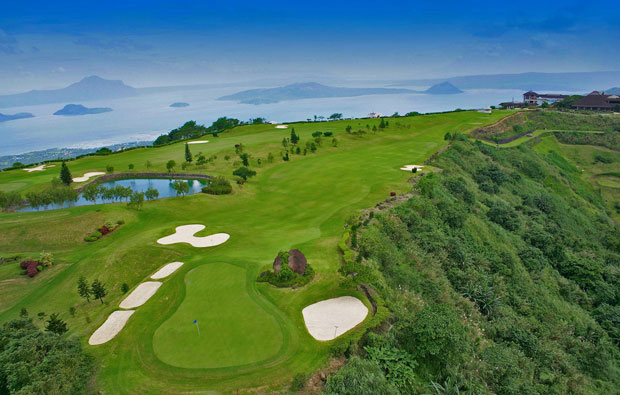 Open fairways at Tagaytay Highlands International Golf Club, Manila, Philippines