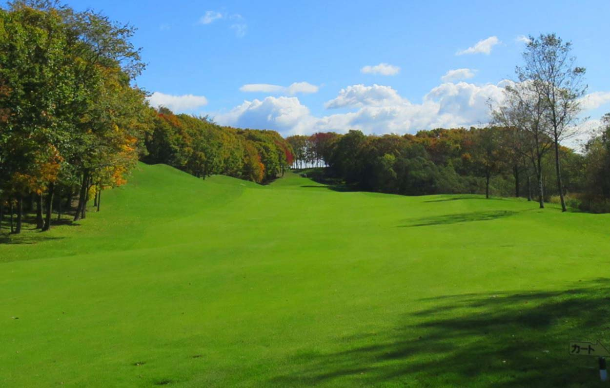 fairway Hokkaido Brooks Country Club