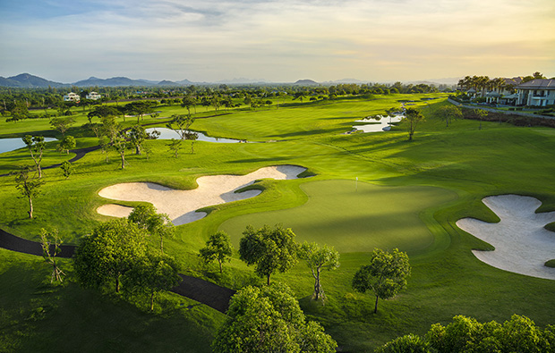hole 10, black mountain golf club, hua hin, thailand