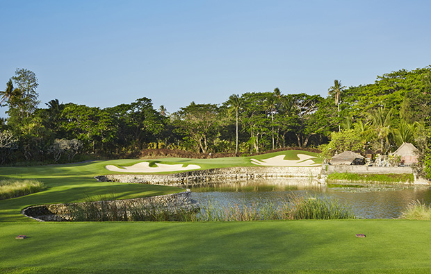 12th hole bali national golf club, bali