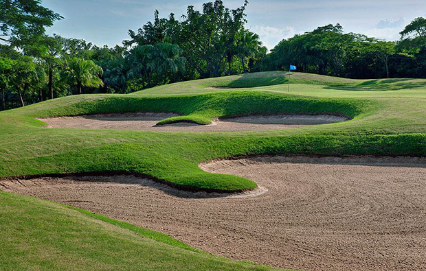 bunkers at palm island golf resort, guangdong china