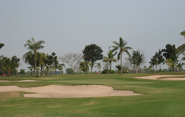 bunker, president country club, bangkok, thailand