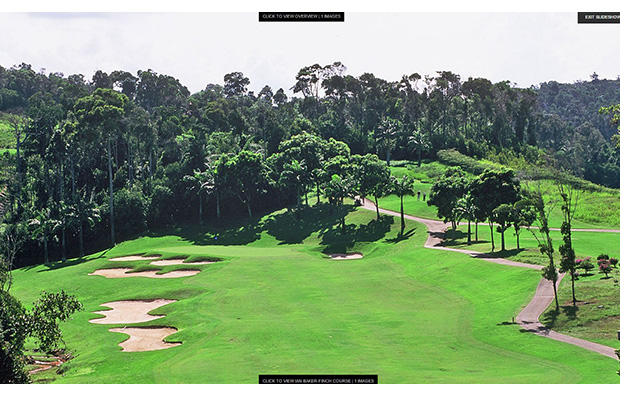 fairway bunkers, bintan lagoon resort, jack nicklaus course, bintan, indonesia