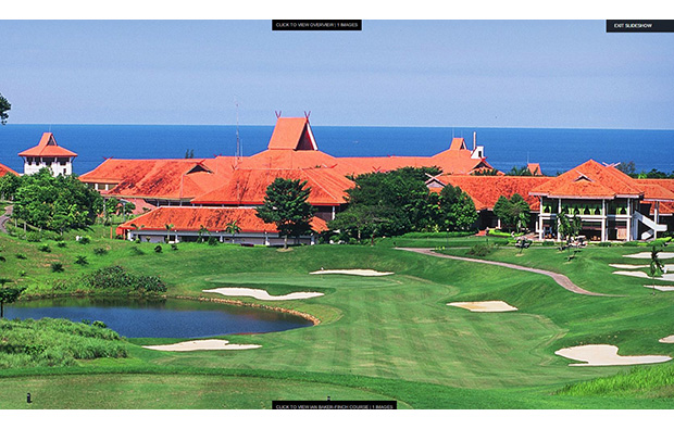 hotel buildings,  bintan lagoon resort, jack nicklaus course, bintan, indonesia