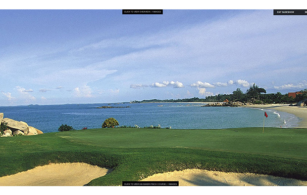 seaside green, bintan lagoon resort, jack nicklaus course, bintan, indonesia