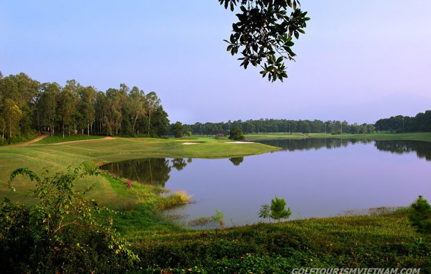 green, kings island country club mountainview course, hanoi, vietnam