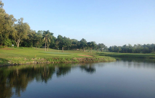 King Naga Golf Club Lake