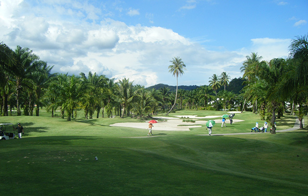 10th hole loch palm golf club, phuket
