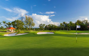 13th hole laguna phuket golf club, phuket
