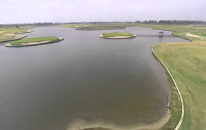 island green, lakewood links, bangkok, thailand