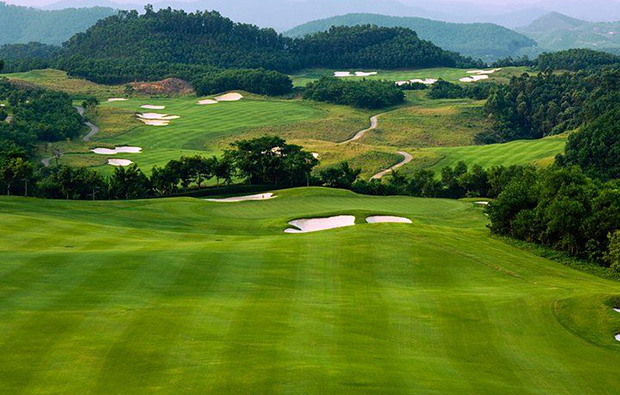 aerial view at leadbetter course mission hills, guandong china