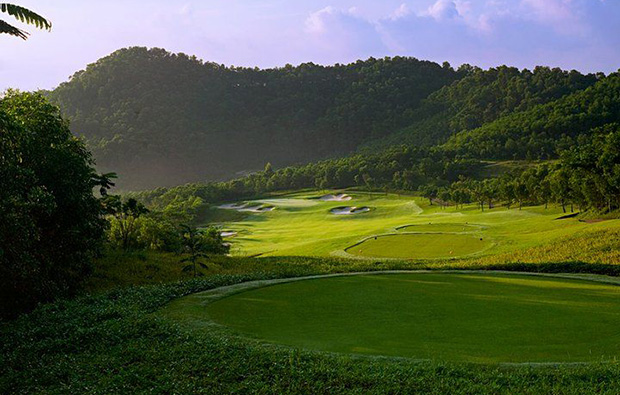 green way  at leadbetter course mission hills, guandong china