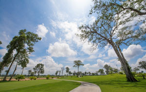 park land at long thanh vientiane golf course, laos
