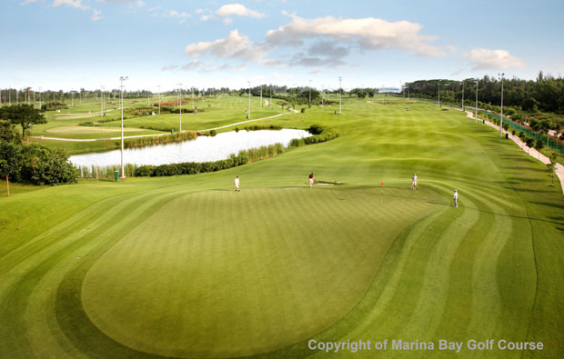Marina Bay Golf Course 6th hole