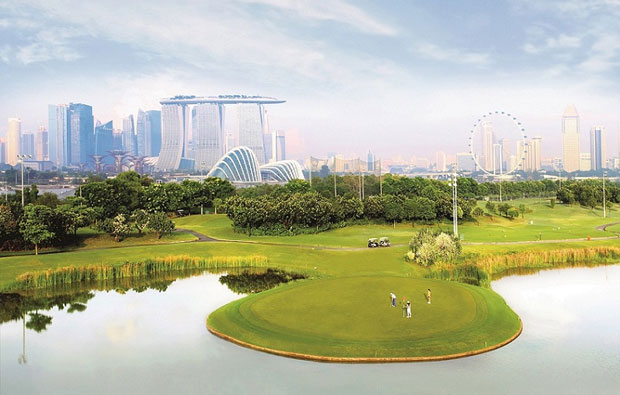 Marina Bay Golf Course par 3