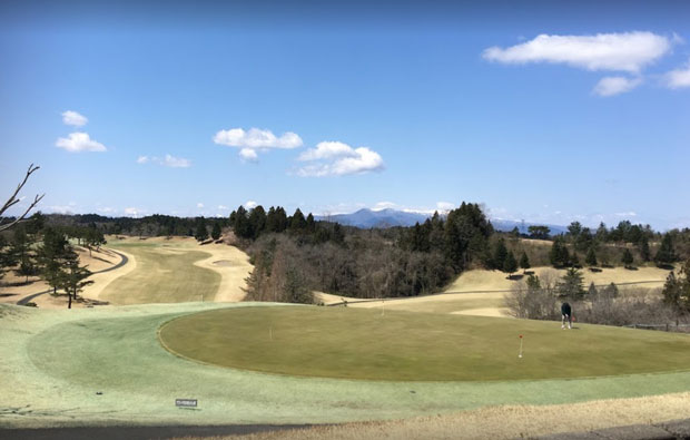 Matsushima Chisan C.C. Osato Course View from Clubhouse