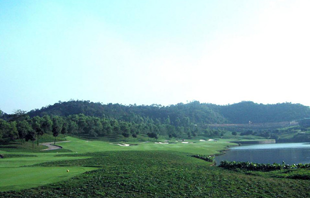 scenery at faldo course mission hills, guangdong china