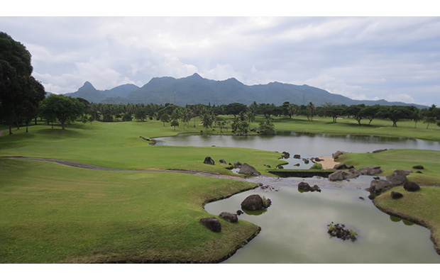 Fairway Mt Malarayat Golf Country Club, Manila, Philippines