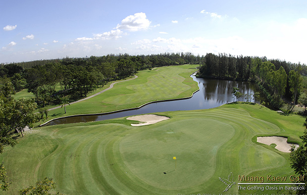 green at muang kaew golf club, bangkok, thailand