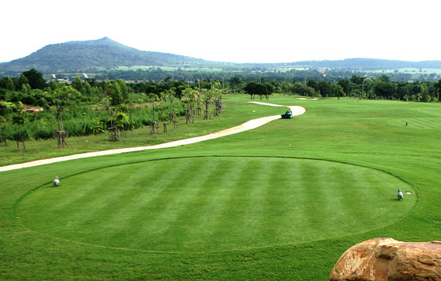 fairway, narai hills golf resort, khoa yai, thailand