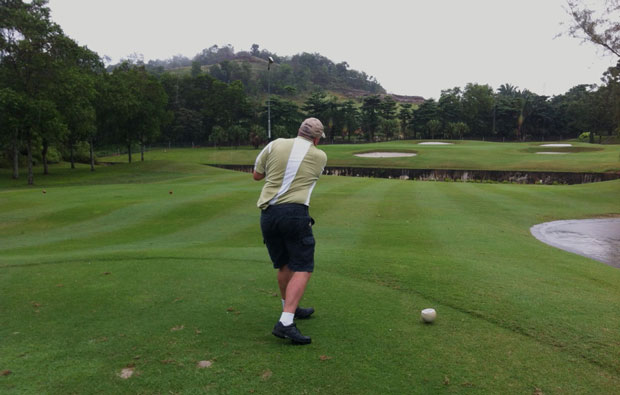 Tee Box Nilai Springs Golf Country Club