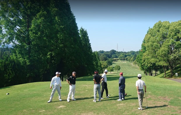 Oita Fujimi Country Club Tee Box