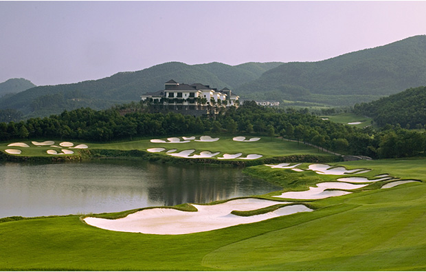 fantastic scenery at olazabal course mission hills, guangdong china