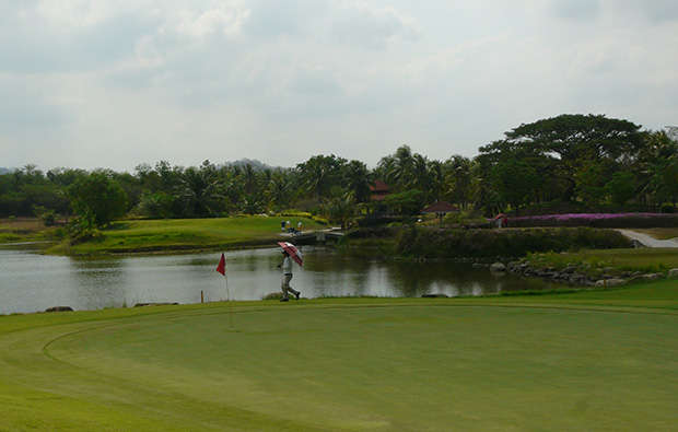 water hazard crystal bay golf club, pattaya, thailand
