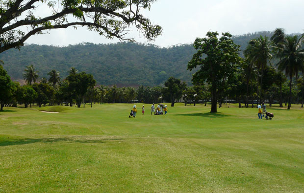 fairway, mountain shadow golf club, pattaya, thailand