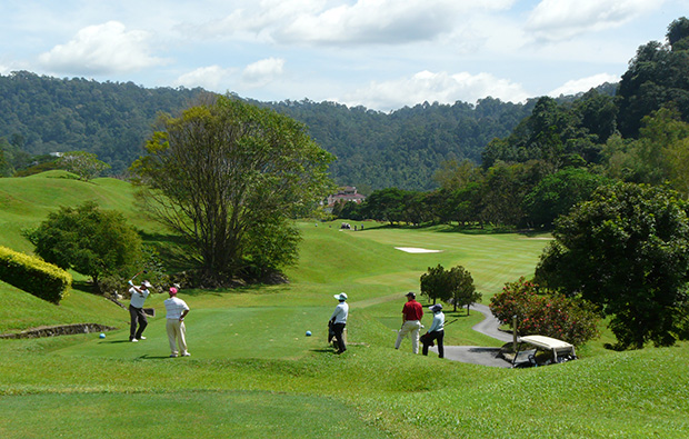 1st tee templer park country club, kuala lumpur