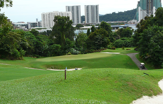 green penang golf club, penang