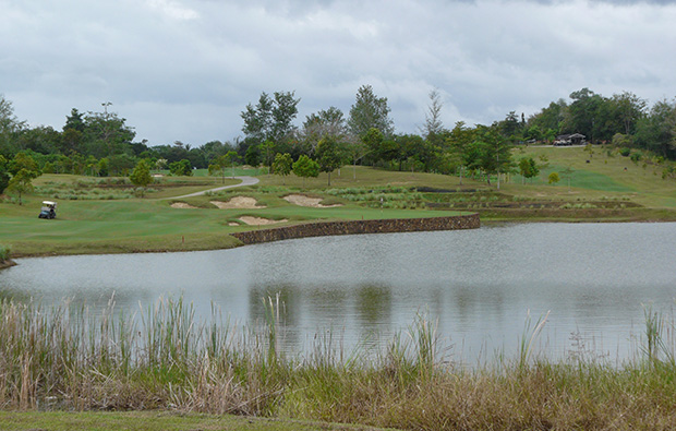 2nd green 99 east golf club, langkawi