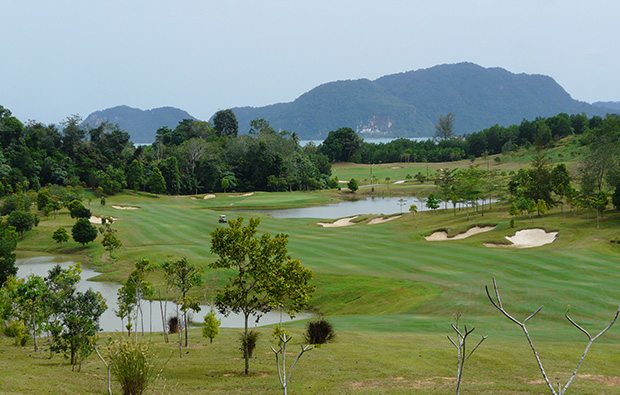 general view 99 east golf club, langkawi