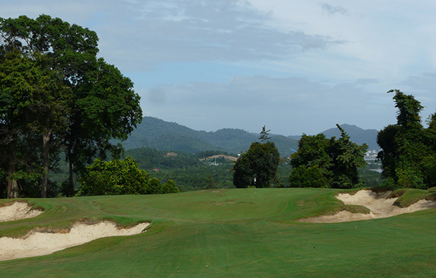 bunkerts 99 east golf club, langkawi