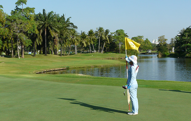 caddie,   summit windmill golf club, bangkok, thailand