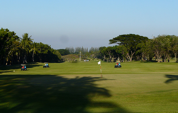 green, palm hills golf club, hua hin, thailand