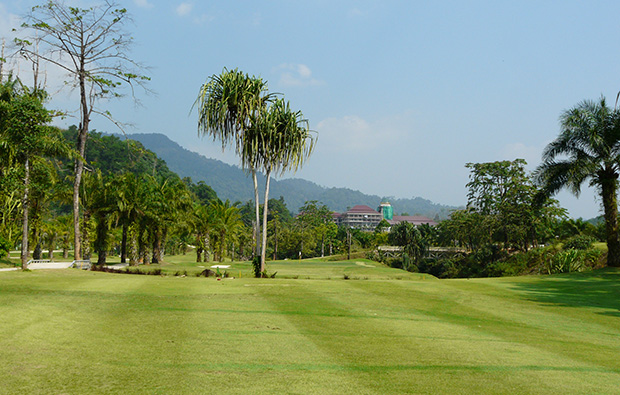 clubhouse katathong golf resort, phuket