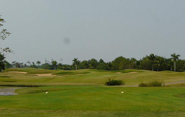 tee box, jeongsan country club, ho chi minh, vietnam