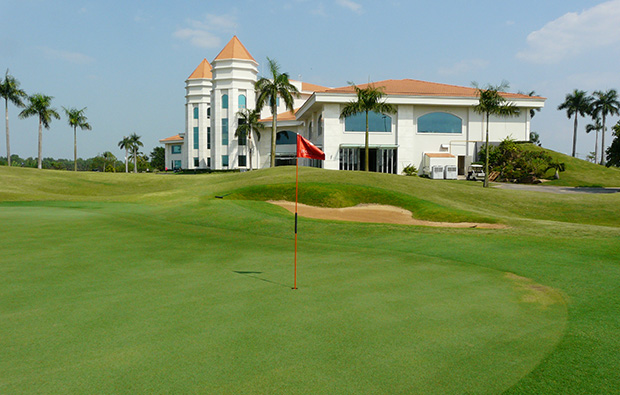 clubhouse, jeongsan country club, ho chi minh, vietnam