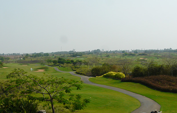 panorama, song be golf resort, ho chi minh, vietnam
