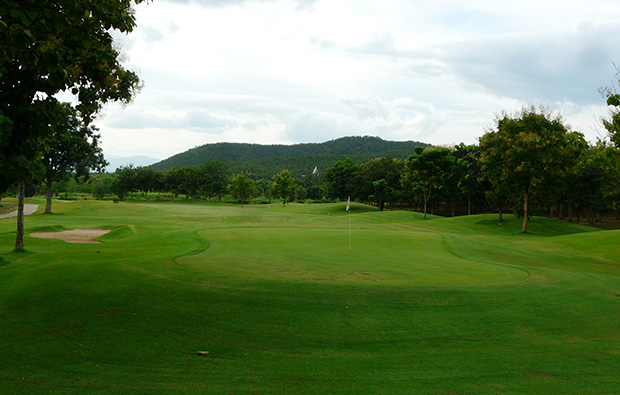 green and fairway, gold canyon golf club, chiang mai, thailand