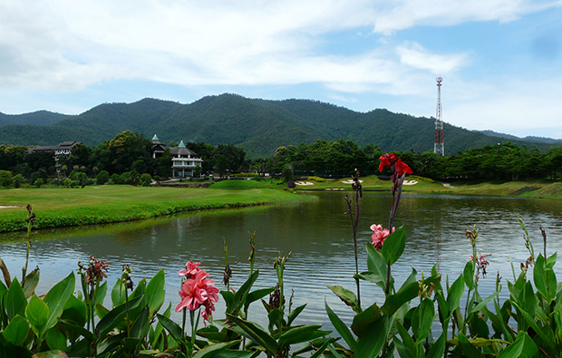 lake, gassan khuntan golf resort, chiang mai, thailand