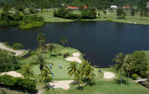 10th green phuket country club, phuket