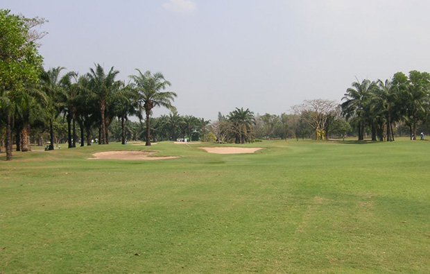 fairway, windsor park golf club, bangkok, thailand