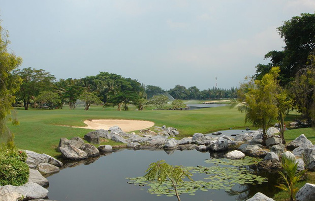 water, windsor park golf club, bangkok, thailand