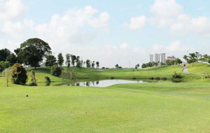 general view Ponderosa Golf Country Club, johor, malaysia