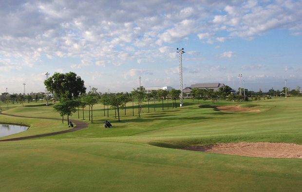 fairway, rachakram golf club, bangkok, thailand