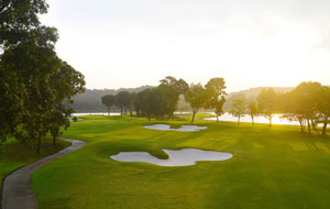 146 hectares of land at raffles country club in singapore
