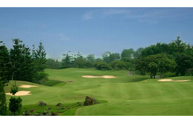 rolling fairways, rainbow hills golf club, jakarta, indonesia
